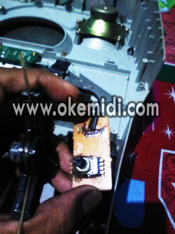 Cara Memperbaiki Picth Bend Technics KN 2600 2400